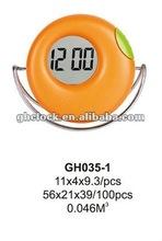 Novelty plastic digital table LCD clock