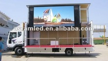 2012 latest hot truck mounted led display/billboard