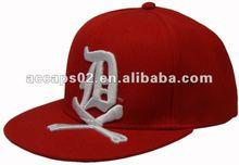 embroidery on visor snapback hats FC-422