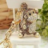 crystal keychains pets