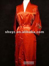 Chinese traditional Sleepwear Robe gown kimono Bathrobe