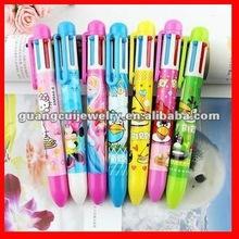fashion stylish four color ballpoint pen