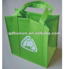 non woven foldable wine bottle bag