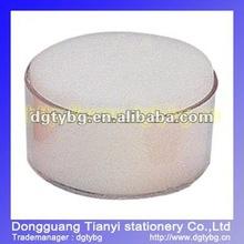 Sponge cylinder financial Cotton box