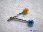 fashion handmade jeweled hairpins for hair