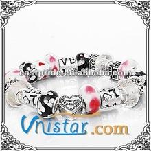 vnistar 2015 fashion bracelet chunky european charmed style