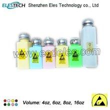 4oz 6oz & 8oz available ESD plastic alcohol bottle