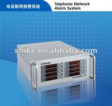 GSM +PSTN Long distance alarm receive system