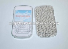 for blackberry 9900 TPU case with diamond wave