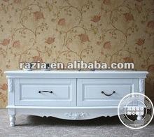 High gloss white tv cabinet for living room