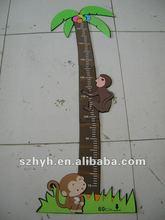 Monkey Eva foam animal growth ruler