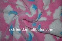 Baby print coral fleece blanket