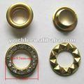 oeillets en métal de diamant de mode