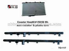 aluminum cores and plastic tank for TOYOTA CAR and IPSUM PICNIC 96 SXM15G/10G