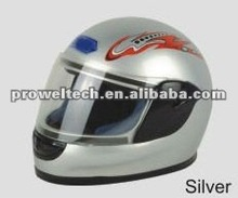 Silver Color Sport Racing Full Helmets/Helmets for Motorcycle