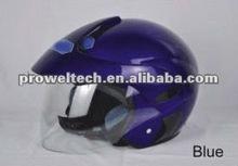 Prowel Blue Color Motorcycle Racing Open Face Helmets/Kids Motorcycle Helmets