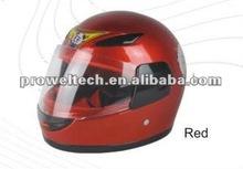 Children Red Helmets in ABS or PP Material /Kids Motorcycle Helmets