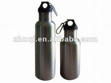 Single wall stainless steel water bottle
