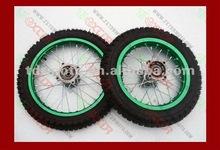 Qualitied Dirt bike/Motorcycle Wheels 14''/12''