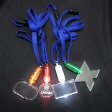 Flashing Sport Necklace With Rope