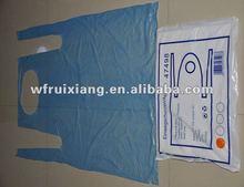 Sanitation disposable pe plastic apron for medical