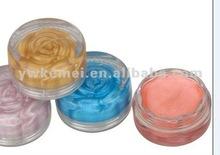 Fashion Children rose flower shape lip gloss/lip color
