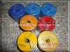 Diamond floor polishing disc with metal bond
