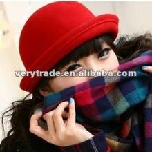 2012 fashion ladies wool bowler hat