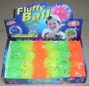 Factory supplier New promotion fluffy glitter ball toy