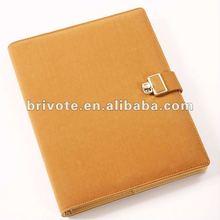 Customize pu leather diary 2012