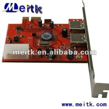 2 Port PCI Express SuperSpeed USB 3.0 Card Adapter