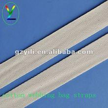 Cotton webbing bag straps