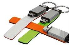oem gift usb flash memory leather