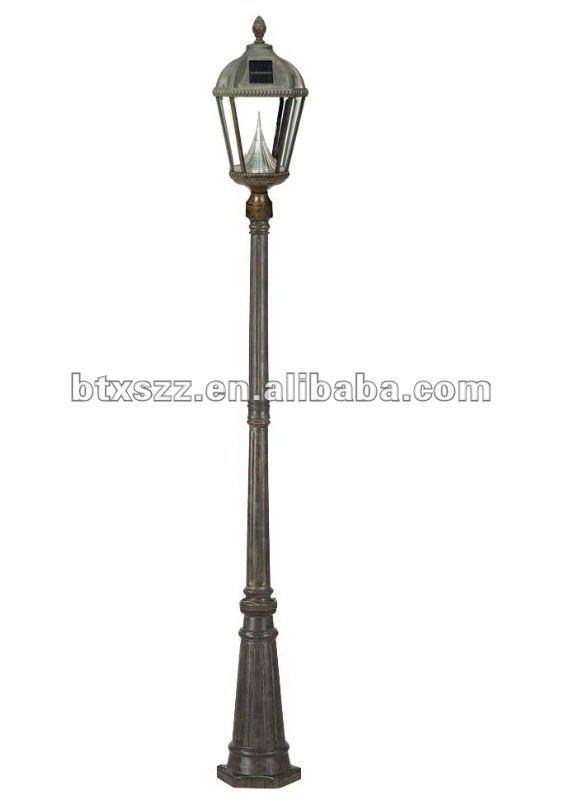 lampe de jardin de poste p teaux de lampadaire id du. Black Bedroom Furniture Sets. Home Design Ideas