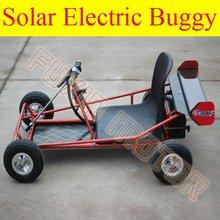 350W Kids solar electric go karts dune buggy
