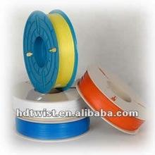 Plastic coated twist ties/PE twist tie roll