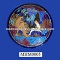 antico smalto decorazione ceramica piatto