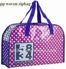 pp woven zipper shopping bag,high quality pp woven bag,bag pp woven