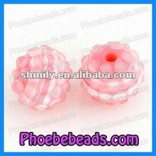 12mm Resin Acrylic Rhinestone Ball Beads (BRB-001)
