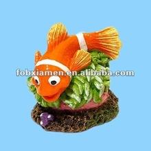 polyresin natural fish aquarium ornaments