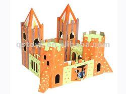 3D Castle Puzzle,drawing toy QS120323011