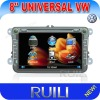 RL-521HGAR New 8 inch 2 din VW Golf 5 car dvd gps