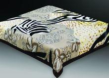 100% polyester mink animal printed blanket