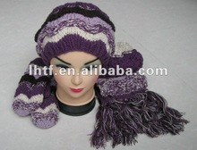 Classic! 2015 fashionable knitted scarf,glove and hat