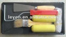 new style sets roller brush,paint brush set,sponge brush