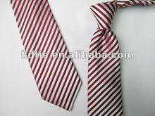 Mixed Designs Men's Striped 100% Silk Necktie