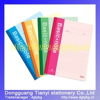 Wireless soft surface notebook promotional products popular notebook