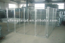 galvanized steel dog kennels