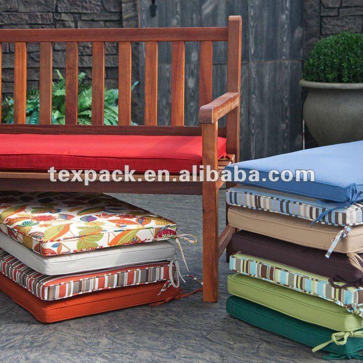 Uv resistente al agua adicional resistente al aire libre - Cojines para sillas de jardin ...