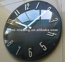 Custom logo glass dial Bubble wall clock paypal will be ok ( RFC1013 )
